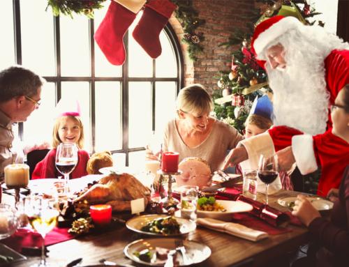Cena con Babbo Natale